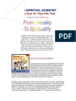 Spiritual Scientist - From Morality to Spirituality