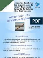 Métodos ópticos  No espectroscópicos