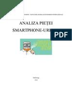 Analiza Pietei Smartphone-urilor