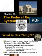 the fed- powerpoint