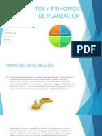 Conceptos y Principios de Planeación- Administracion