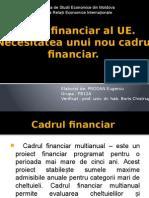 Cadrul Financiar Al UE