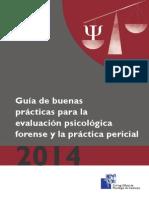 Guia Psicología Forense 2014 Colegio Oficial de Psicología