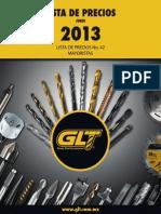 Catalogo de herramientas de corte GLT-2013