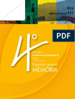 4C Programa Gral Memoria