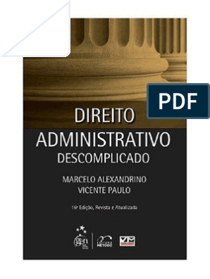 ADMINISTRATIVO ALEXANDRINO DIREITO BAIXAR MARCELO