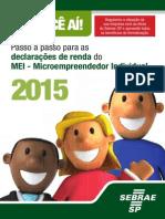 Cartilha MEI Imposto Renda 2015