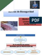 Noris Hermoso Normas de Bioseguridad