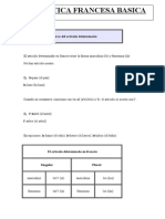 Basic French Grammar