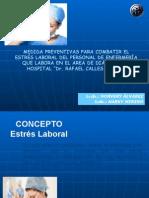 NORVERY Y MINENO Noris Estress Laboral MARZO 2015