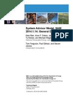 System Advisor Model SAM