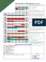 Calendario e Semana de Provas - 1o Sem 2015 -19!01!2015 v2