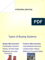 merchandising planning process
