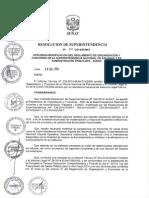 Resolución de Superintendencia de aduanas y administración tributaria