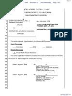 Overture Services, Inc. v. Google Inc. - Document No. 21