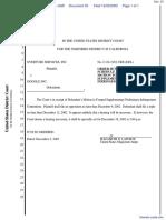 Overture Services, Inc. v. Google Inc. - Document No. 33