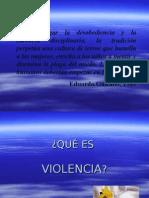 capacitacion violencia