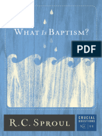 What is Baptism
