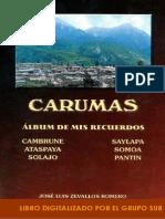 Carumas Albun de Mis Recuerdos Por Jose Luis Zevallos Romero