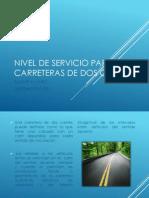 Nivel de servicio para carreteras de dos carriles.pdf