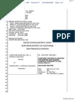 Overture Services, Inc. v. Google Inc. - Document No. 71