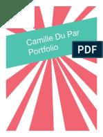 Camille Du Par Portfolio 2015