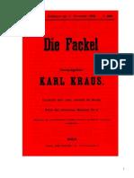Die Fackel, V. Jg. Nr. 146, 1908