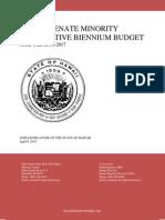 Hawaii Senate Minority Alternative Budget FY 2016-17