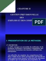 GPEC Gestion prévisionnelle
