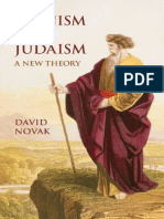 Zionism and Judaism a New Theory by David Novak
