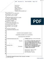 Overture Services, Inc. v. Google Inc. - Document No. 112