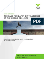 Case for Layer 3 Intelligence at the Mobile Cell Site