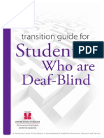 transition guide deaf-blindness