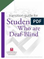 transition guide deaf-blindness