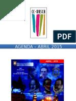 - Agenda – Abril 2015
