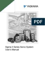 Yasakawa Servo Driver Sigma-II User Manual[1]