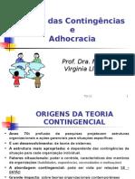 TO-10 - TEORIA DAS CONTINGENCIAS E ADHOCRACIA.ppt