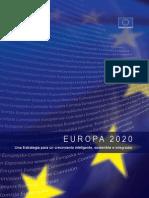 RSE y Europa al 2020