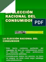 La Elección Racional Del Consumidor