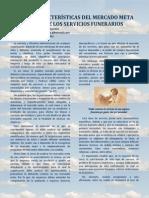 Características del mercado meta de los servicios funerarios