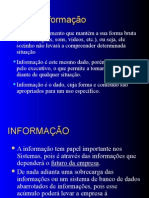 Si Dados x Informacao