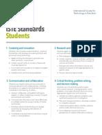 iste student standards pdf