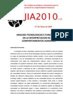 JIA2010 SESIÓN Nº7 (Análisis tecnológicos y funcionales)
