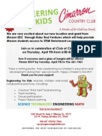 engineering for kids flyer