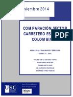 Comparación Sector Carretero España y Colombia