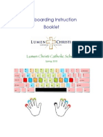Keyboarding Booklet