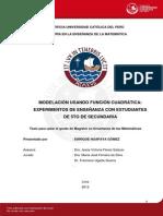 Funcion Cuadrática_MODELACION