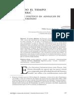 Nilda Redondo - Lo Poético Político en Adolecer de Francisco Urondo