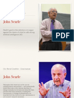philo 101 john searle