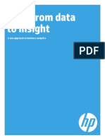 HP - Shift From Data to Insight - A New Approach to Business Analytics